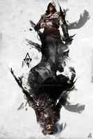 Assassin's Creed Poster Artwork by alif32