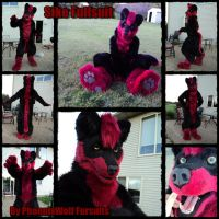 Sike Full realistic fursuit by phoenixwolf33
