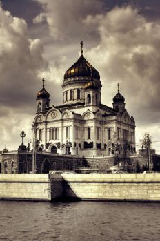Cathedral of Christ theSaviour by Cavin