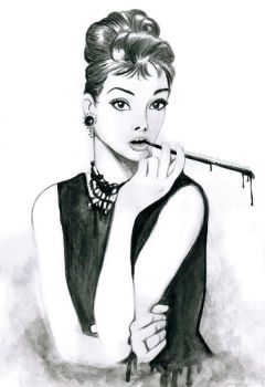 Breakfast at Tiffany's by fatpear