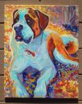 2015 pet portrait Saint B. by jupiterjenny