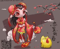happy chinese new year by visark - Chinese New Year 2007