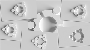 Ubuntu White Wallpaper Collection by TheBigDaveC