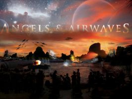 Angels and Airwaves The WAR by KingGameDEsign