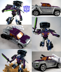 Shattered Glass Optimus Custom by TrueError