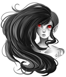 marceline sketch by Nasuki100