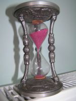 hourglass by syccas-stock