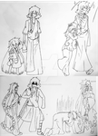 Life and Death - Growth chart by TheifysSoul