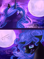 Ode to the full moon by Segraece