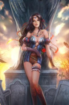 Cover for zenescope by jiuge