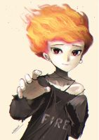 Fire Girl by gigiEDT