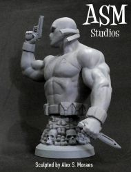 CROSSBONES MINI BUST 03 by ASM-studio