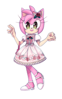 Amy Rose Lolita by saltwaterTOFEE