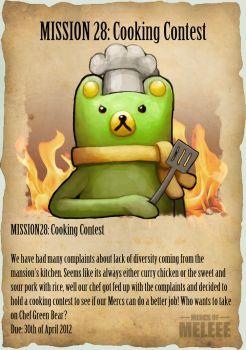 MISSION 28: Cooking Contest by Ry-Spirit