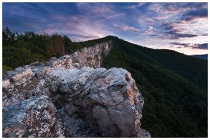 North Fork Mountain by joerossbach
