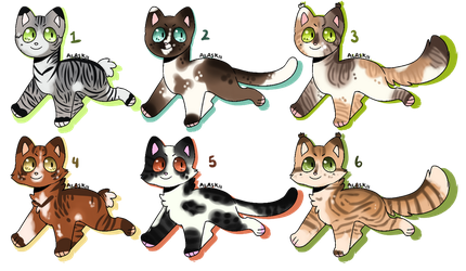 adopts - open 3/6 by Hollyleafthewarriorc