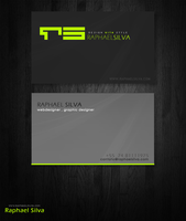 Raphael Silva Business Card by gbn01