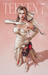 Nina Williams - The Deadly Vow by biscuit-the-great