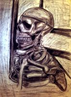 Skeleton Drawing Practice. by ippiki-wolf