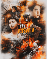 #3 My answer [KAISOO POSTER] by IwillGoUp