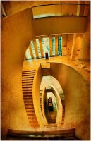 stairs of light_ by Trifoto