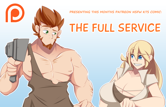 Full Service Comic Promo by Obhan