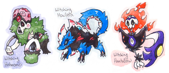 Horror Trio- Witching Hour by Coonae
