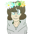 (AT) This sad boi needs flowercrowns by KrystalRaccoon2002