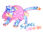 One off adopt: Tiger's Space Dream {OPEN} by Ne-wt