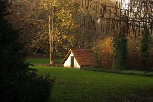 Little shelter in the park by steppeland