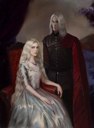 Shiera Seastar and Bloodraven by BellaBergolts