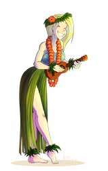 Commission - Hula girl Veronica by HiSS-Graphics
