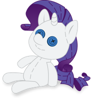 Rarity Plush by iscord
