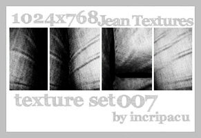 Texture Set 007 - Large by Incripacu