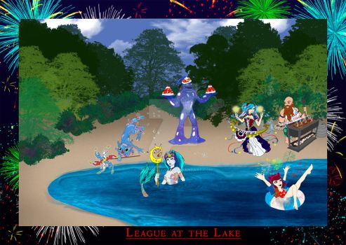 League at the Lake by SpiderQueenRhi