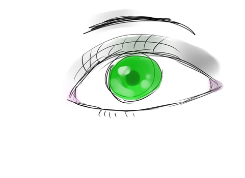 i dont know why i like drawing eyes.. by UndertaleDj