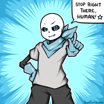 Underswap - Sans by AquasProductions