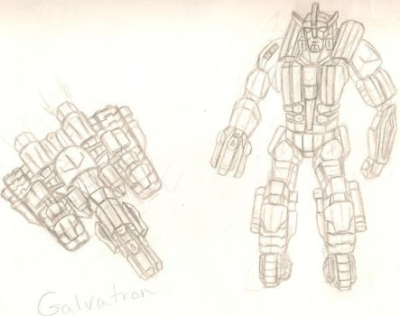 Behold.... Galvatron by dracowheelz5