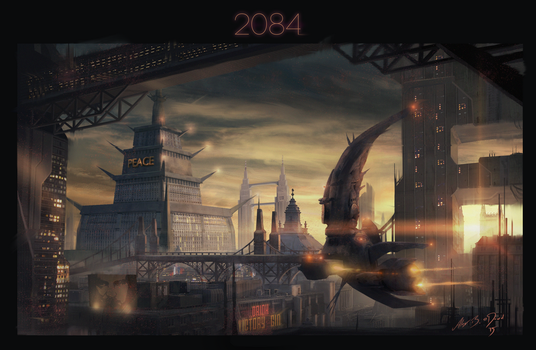2084: Ministry of Peace by laesir