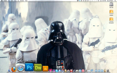 The Empire Strikes Mac by davidbigler