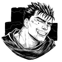 Berserk: Guts sketch by MenasLG