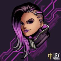 Overwatch: Sombra by iurypadilha