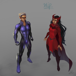 Magneto'sChildren - another wip by Illumikage
