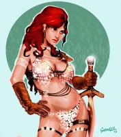 Red Sonja by Grainicus