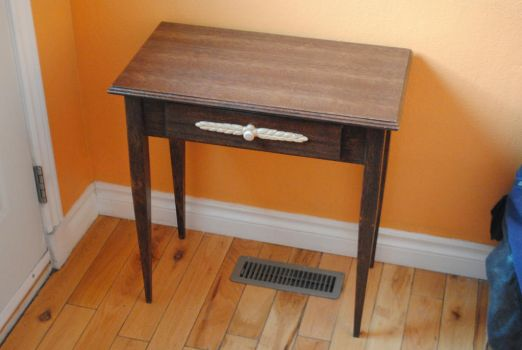 Mahogany End Table by fixinman