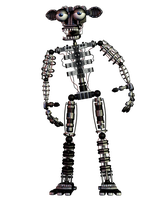 Fnaf 2 Endoskeleton Full Body 4K by CoolioArt