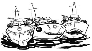 Postmodern PT Boats by amberchrome