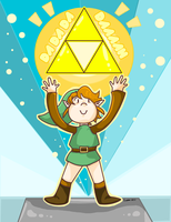 Triforce by tunetherainbow