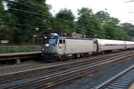 Amtrak at Speed by therudycometh