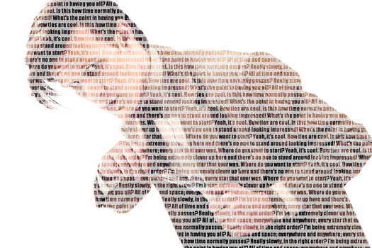 the doctor typography by AriaGrill